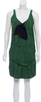Sonia Rykiel Sleeveless Pleated Dress