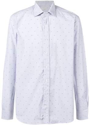 Etro micro-paisley shirt