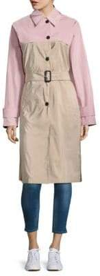Prada Buttoned Silk Coat