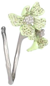 Acne Studios Crystal-embellished single earring