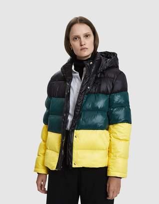 Pswl Hooded Nylon Puffer Coat