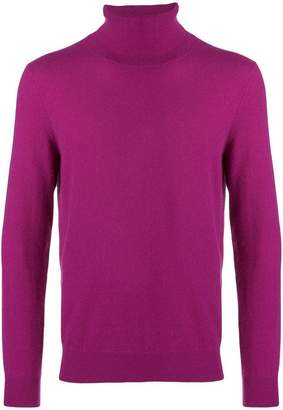 Laneus cashmere roll-neck sweater