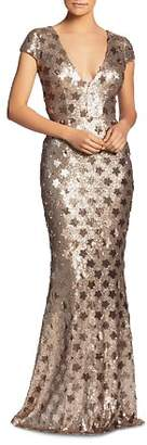 Dress the Population Lina Star Sequin Mermaid Gown - 100% Exclusive