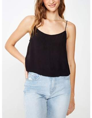Cotton On Juniors' Astrid Cropped Scoop Neck Cami