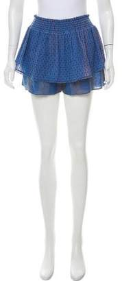 Tryb 212 Tiered Mini Shorts