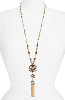 Women's Baublebar Cosma Tassel Pendant Necklace $58 thestylecure.com