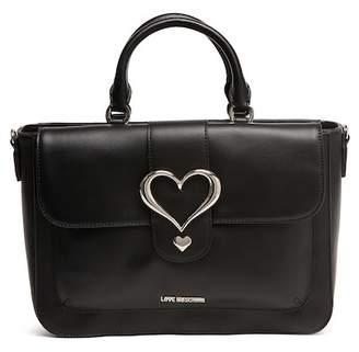 Love Moschino Heart Accent Satchel