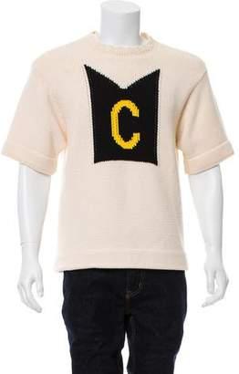Calvin Klein Crew Neck Short Sleeve Sweater