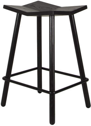 Souda Mitre Wood Counter Stool