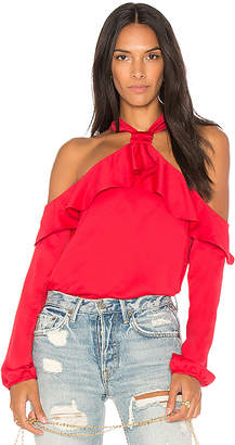Saylor West Cold Shoulder Blouse