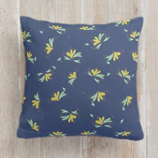 With Do I Wander Square Pillow