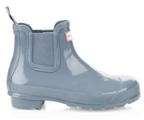 Hunter Glossy Chelsea Rain Boots