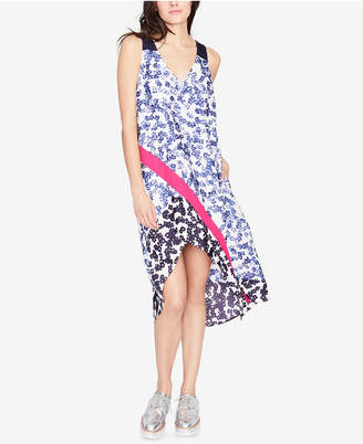 Rachel Roy Mixed-Print High-Low Dress, Created for Macy's