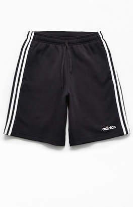 adidas Black 3-Stripes Active Shorts