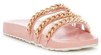 Liliana Nomi Chain Slide Sandal