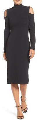 Laundry by Shelli Segal Cold Shoulder Dress $168 thestylecure.com