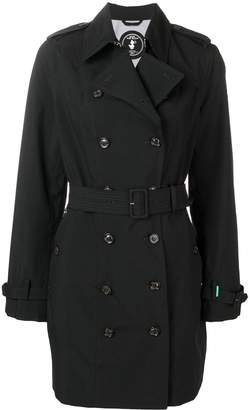Save The Duck double breasted trench coat