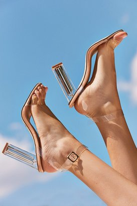 Urban Outfitters Clear Kim Heel $59 thestylecure.com