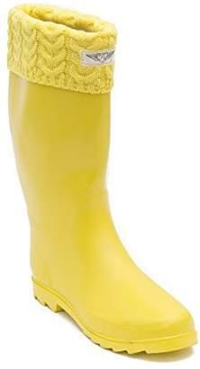 DAY Birger et Mikkelsen Forever Young Women Black/w Laces Rubber Rain Boots, 9