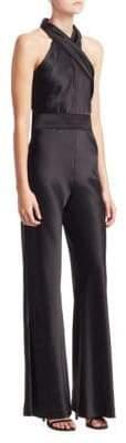 Pandora Galvan Crepe Wide Leg Jumpsuit