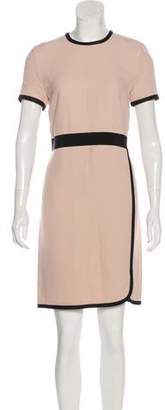 Les Copains Colorblock Knee-Length Dress