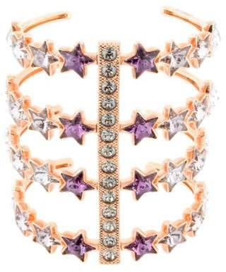 Ca&Lou Crystal Iris Cuff