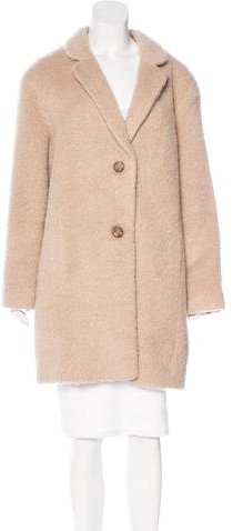 Kate Spade New York Knee-Length Button-Up Coat w/ Tags
