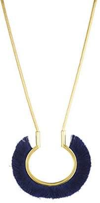 Trina Turk Women's Fringe Pendant Necklace