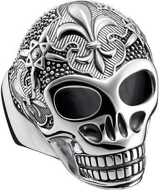 Thomas Sabo Rebel at heart sterling silver skull ring
