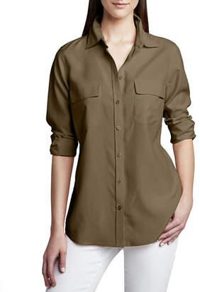 8cc1f2f3 Go Silk Safari Long-Sleeve Silk Shirt
