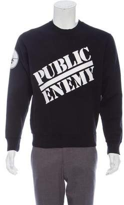 Supreme x Undercover 2018 Public Enemy Sweatshirt