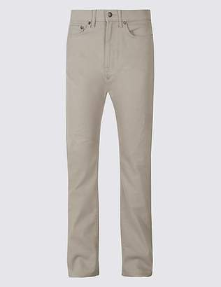 M&S Collection Big & Tall Regular Fit Stretch Jeans with StormwearTM
