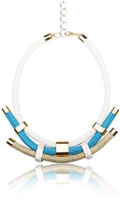 Iris Handmade Geometrical Statement Necklace