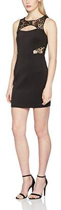 GUESS Women's Round Sleeveless Dress Large