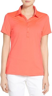 Women's Under Armour 'Zinger' Short Sleeve Polo $59.99 thestylecure.com