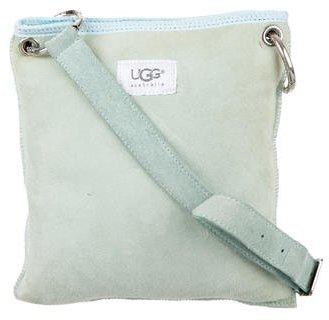 UGGUGG Australia Shearling-Trimmed Crossbody Bag