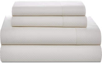 Tommy Hilfiger Painted Lattice Cotton 200-Thread Count 4-Pc. King Sheet Set Bedding