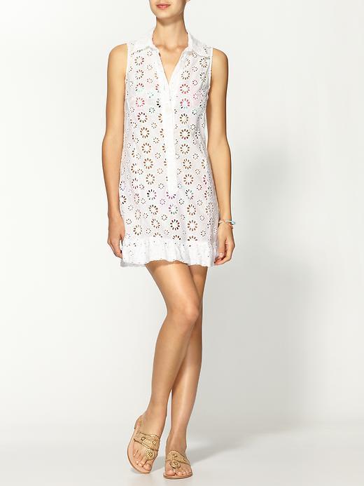 Nanette Lepore Isola Eyelet Dress