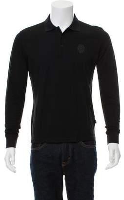 Just Cavalli Long Sleeve Polo Shirt