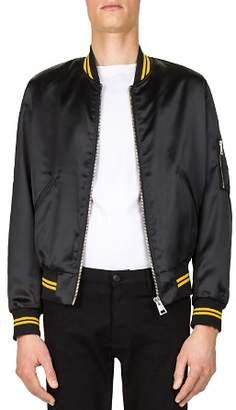The Kooples Shiny Teddy Bomber Jacket