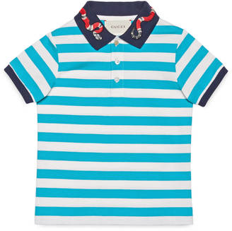 Children's cotton polo with snake $280 thestylecure.com