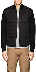 Ralph Lauren Purple Label MEN'S QUILTED PUFFER JACKET - BLACK SIZE XXL