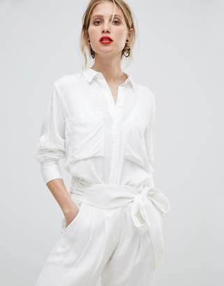 MANGO Pocket Detail Shirt