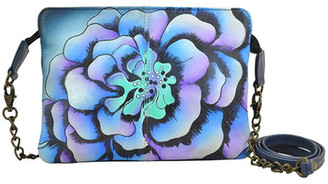 ANUSCHKA Hand-Painted Leather Small Crossbody $120 thestylecure.com