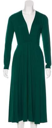Reformation Long Sleeve Midi Dress