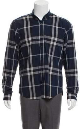 Burberry Nova Check Woven Shirt