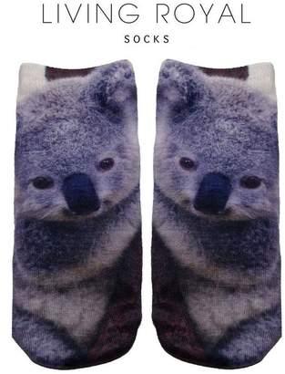 LIVING ROYAL Koala Ankle Socks