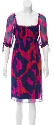 Diane von Furstenberg Genesis Silk Dress