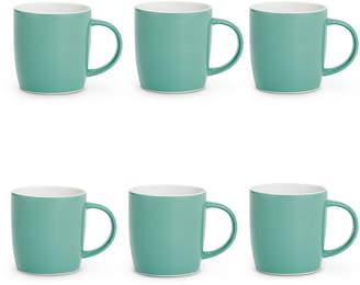 Marks and Spencer Set of 6 Plain Mugs