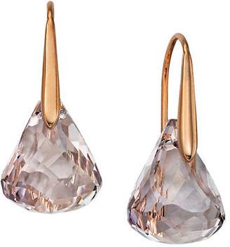 Swarovski Lunar Drop Earrings $79 thestylecure.com